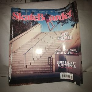 Skateboarder Magazine February/March 2013 Vol.23,